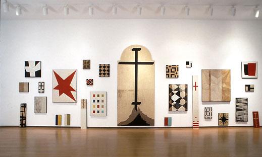Installation, Arthur Roger Gallery, 1994