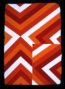 <em>Untitled</em>, 2000, 18&quot; x 12&quot;, Oil/wax/paper